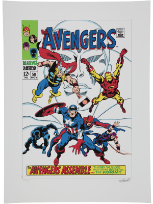 The Avengers #58 - The Avengers Ensemble