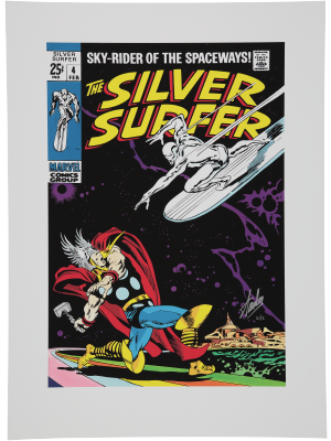 Silver Surfer #4 (International Edition)
